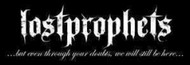 Lost Prophets Vinyl Sticker Letters Logo Quote