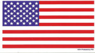 American Flag Vinyl Sticker US USA United States