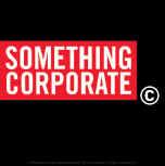Something Corporate Vinyl Sticker Square Logo