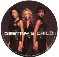 Destiny's Child Vinyl Sticker Circle Photo