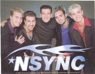 N Sync Vinyl Sticker Tribal Photo Logo