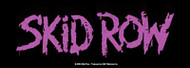 Skid Row Vinyl Sticker Purple Letters Logo