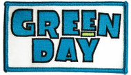 Green Day Iron-On Patch Block Letters Logo