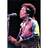 Jimi Hendrix Poster Flag Live Color Photo Tapestry