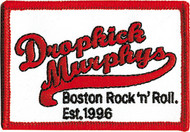 Dropkick Murphys Iron-On Patch Red Logo