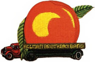 Allman Brothers Band Iron-On Patch Peach Truck Logo