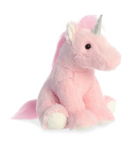 Pink Unicorn Plush by Aurora