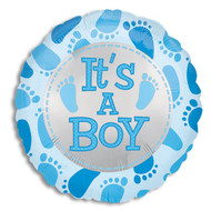 "Mylar balloon add on; ""It's a Boy!"""