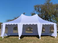 29'x21' Decagonal Party Tent - White
