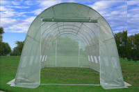 Greenhouse 20'x10' Round Top - Walk In Nursery