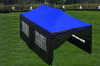 Blue Flame 10'x20' Pop Up Marquee with 6 Sidewalls - E Model
