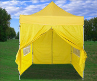 8'x8' Yellow Basic - Pop up Tent