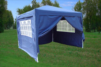 10'x10' Pop Up Canopy Party Tent EZ CS - Navy Blue