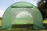 Greenhouse 20'x10' Round (B2) - Walk In Nursery (94 Pounds)