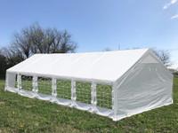 PE Modular Tent Set - Can Be Set Up As 20'x20', 26'x20', 32'x20' or 40'x20'