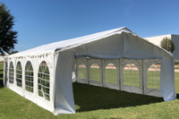 32'x16' Budget PVC Wedding Party Tent Canopy Shelter - White