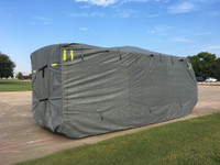 Deluxe Waterproof Recreational Travel Trailer RV Covers Grey, Various Sizes