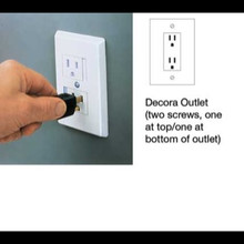 Sliding Safety Plate for Decorator Outlets, 2 pk.