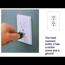 Sliding Safety Plate for 3-Pronged Outlets, 2 pk.