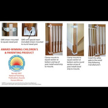 No Hole Baby Gate Mounting Kit by Safety Innovations