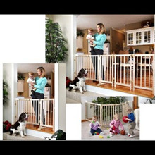 Wide Spaces Baby Gate System by Evenflo