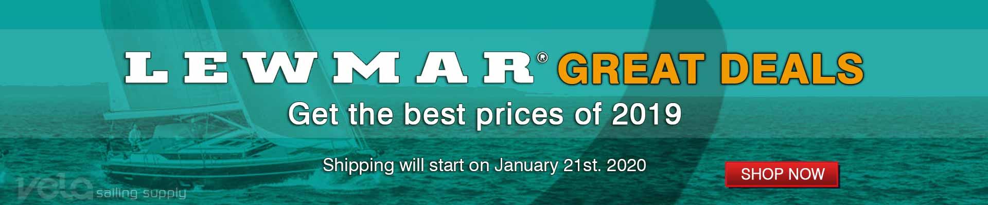 Lewmar Sailboat Hardware Deals