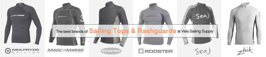 Sailing Tops and Rashguards
