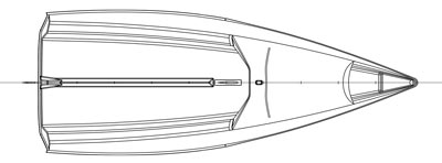 VX One Sailboat Plan Top