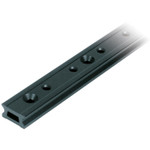Ronstan Series 26 Track, Black, 1996 mm M6 CSK fastener holes. Pitch=100mm Stop hole pitch=50mm