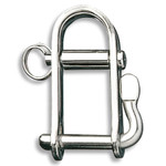 "Ronstan Shackle, Halyard, Pin 3/16"", L:22mm, W:15mm"