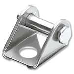 Ronstan Fork Becket, 5mm Mounting Hole, 316 Stainless Steel