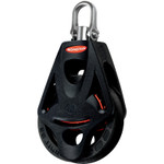 Ronstan Series 40 BB Orbit Block, Single, Becket, Swivel Head