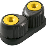 Ronstan Small 'C-Cleat' Cam Cleat Fluoro-Yellow, Black Base