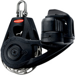 Ronstan Series 55 RT Orbit Block, Single Cleat Swivel, Auto