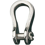 "Ronstan Shackle, Narrow, Slotted Pin 3/16"", L:19mm, W:8mm"