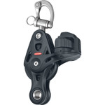 Ronstan Series 60 Core Block, Fiddle Cleat Snap Shackle