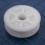"""Schaefer Sheave 2 1/4"""" (57mm) OD White Delrin 62-030-01"""