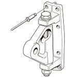 Selden Kicker Bracket 120 (Aluminum-Toggle)138