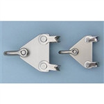Boomkicker Boomkicker Small 2-1 Vang Plate w/Shackles