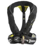 Spinlock Deckware Deckvest Lifejacket Harness Pro Sensor Gun Metal Black DW-LJH5D-A