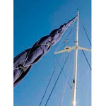 Vela Canvas Genoa UV Sleeve for Headstay up to 33 ft.