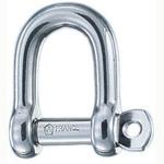 Wichard 1/4 Self Locking D Shackle