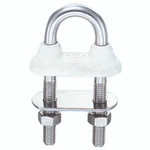 Wichard 1/4 White Waterproof U-Bolt L 3 1