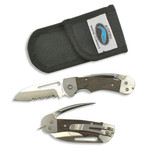 Myerchin Knives Gen 2 Captain Pro Knife (Serrated Blade) with Marlin Spike
