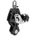 Lewmar 50mm Sync Block Fiddle Cam Bk
