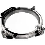 Lewmar Round Stainless Steel Portlight Grey Acrylic 250mm Diameter Black Handles