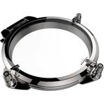 Lewmar Round Stainless Steel Portlight Grey Acrylic 296mm Diameter Black Handles