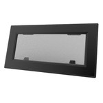 Lewmar Flush Mitre 1 Gray Black Portlight Al Blk