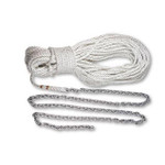 "Lewmar 30'5/16""Bbb 250'9/16"" Rope shackle 3/8"""