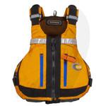 MTI Lifejacket Slipstream, Mango/Gray Ripstop MTI-716E-0EA Front View